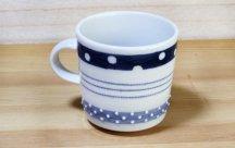 砥部焼◆ マグカップ (3種ボーダー)