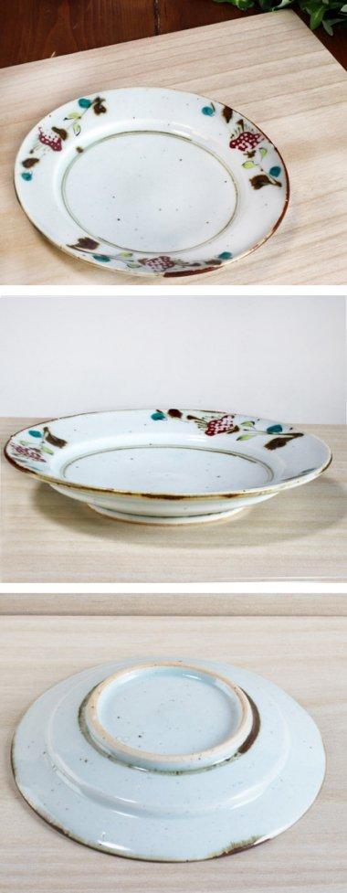 中田窯,外径16.2cm×高さ2.6cm,磁器