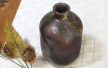 丹波立杭焼 焼〆油壺 1