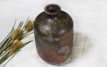 丹波立杭焼 焼〆油壺 2