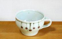 砥部焼スープカップ■つるし柿