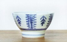 砥部焼◆くらわんか茶碗 蔦