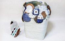 砥部焼◆花瓶