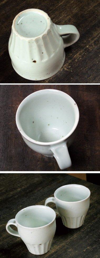 中田窯,径約8.5cm×高約8.5cm,磁器(鉄入)