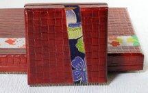 柿渋箱(小)■紫梅