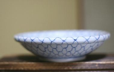 陽貴窯,外径18cm×高さ5cm,磁器