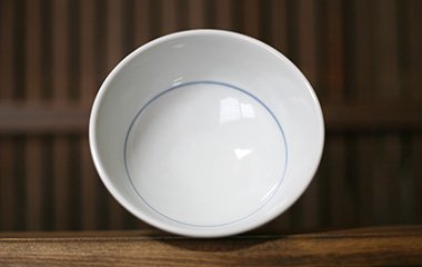 陶房風,径約13.3cm×高約7.5cm,磁器