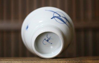 陶房風,径約11.8cm×高約6.5cm,磁器