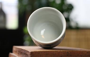 陶房風,径約7.3cm×高約7.5cm,磁器