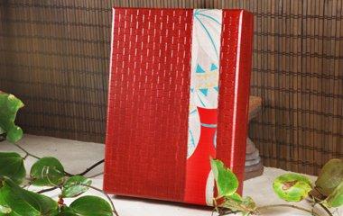 ,34cm×24cm×7cm,紙(柿渋塗)