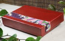 柿渋箱■花むらさき