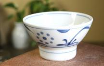 砥部焼◆くらわんか茶碗(小)■太陽