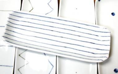 梅乃瀬窯,約28cm×約10.5cm,磁器