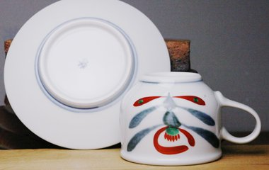 梅山窯,,磁器