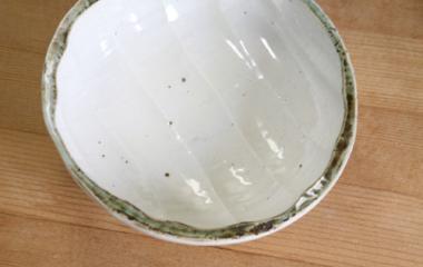 山中窯,径約13.5〜14.5cm×高さ約5cm,磁器