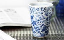 砥部焼◆とりさん柄のカップ
