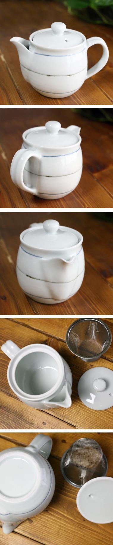 梅乃瀬窯,外口径約9cm(本体)×全高約12cm,磁器