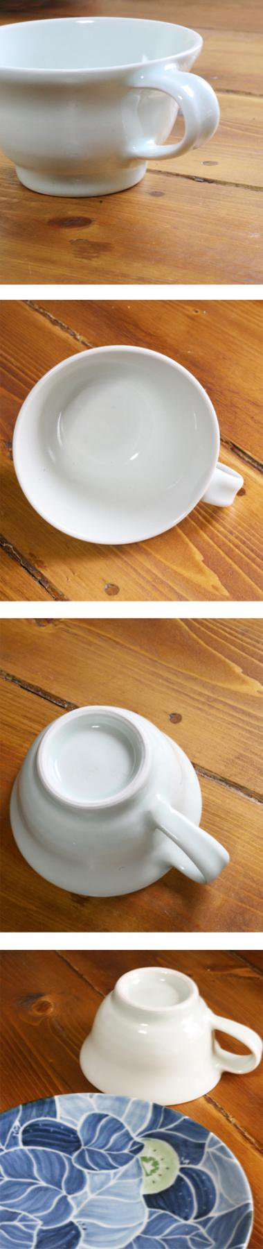 梅乃瀬窯,径約10cm×高約6cm(皿径約16.7cm),磁器