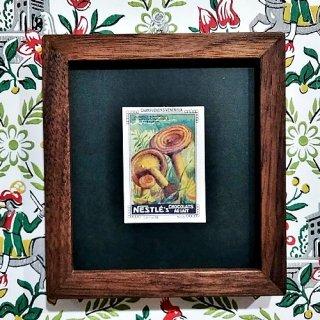 キノコの額「Vintage Nestle Card 1920's」 (P)