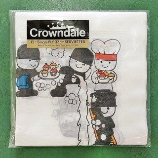 新品・未開封 FRED「ペーパーナプキン(crowndale)」