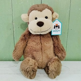 Jellycat「Bashful Monkey M」(さる・Mサイズ)