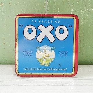 OXO 「CUBES缶(75周年記念缶(ダイヤモンドジュビリー)」