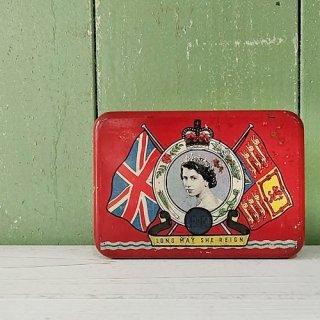 OXO「エリザベス女王 戴冠記念缶 1953年」