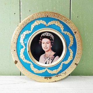 MELTIS「エリザベス女王 1977年 Silver Jubilee 缶 (へこみあり)」