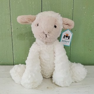 Jellycat「Fuddlewuddle Lamb」Mサイズ(ひつじ)