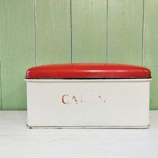 Tala「1950's CAKE TIN(赤×アイボリー) 」