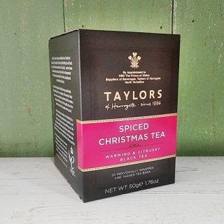 TAYLORS of HARROGATE 「スパイスド クリスマス」20p ティーバッグ