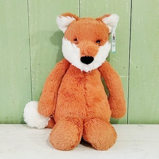 Jellycat「Bashful Fox Cub M」(こぎつね・Mサイズ)