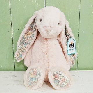 Jellycat「Blossom Bunny Blush M」(ブロッサムバニー・淡いピンク・Mサイズ)