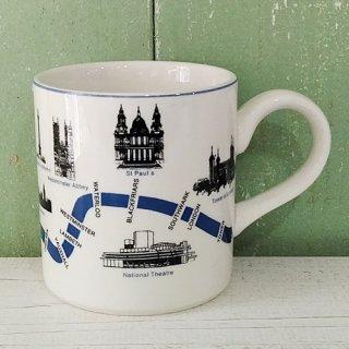 MIDWINTER 「London Scenes マグ」テムズ川