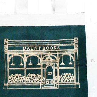 Daunt Books「トートバッグ(L)グリーン×ゴールド」
