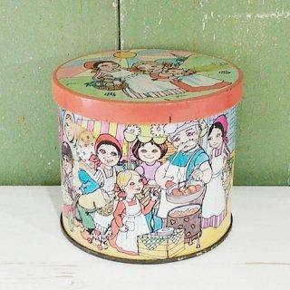 英国Blue Bird Confectionery Tin「 お菓子の缶」