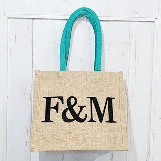Fortnum & Mason「Jute Bag Sサイズ(F&Mロゴ)」