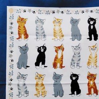 ティータオル「UlsterWeavers・KITTENS ARRIVED(子猫たち)」