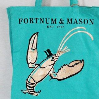 Fortnum & Mason「Cotton Bag(ゴールドのロブスター)」