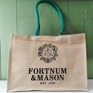 Fortnum & Mason「Jute Bag よこ型Lサイズ(Provisions)」