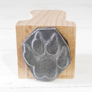 <img class='new_mark_img1' src='https://img.shop-pro.jp/img/new/icons12.gif' style='border:none;display:inline;margin:0px;padding:0px;width:auto;' />The English Stamp Company 「dog paw(犬の足あと)」スタンプ