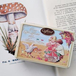【2020年秋冬限定 】Caffarel「クラシックS缶(チョコレート5粒入)」子ども・アヒル・ネコ缶