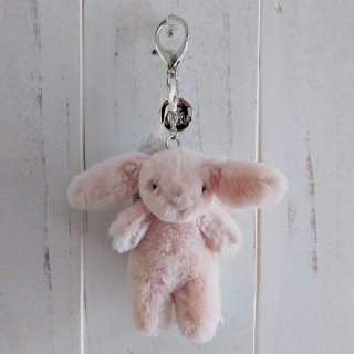 <img class='new_mark_img1' src='https://img.shop-pro.jp/img/new/icons12.gif' style='border:none;display:inline;margin:0px;padding:0px;width:auto;' />Jellycat「Bashful Blush Bunny Bag Charm」(うさぎ・バッグチャーム)ブラッシュ/淡いピンク・さくら色