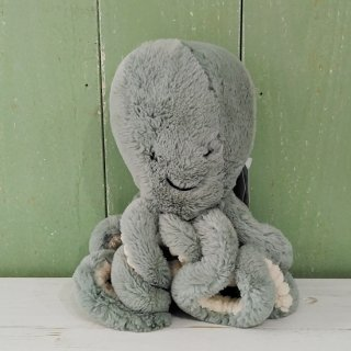 <img class='new_mark_img1' src='https://img.shop-pro.jp/img/new/icons12.gif' style='border:none;display:inline;margin:0px;padding:0px;width:auto;' />Jellycat「Odyssey Octopus Little」オデッセイ オクトパス リトル(タコ)淡いモスグリーン色