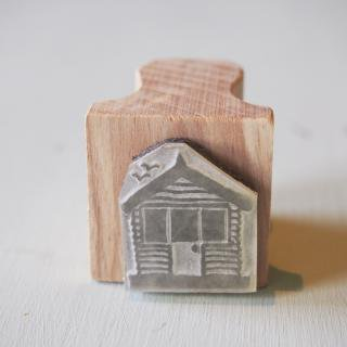 The English Stamp Company 「Beach Hut・A」スタンプ