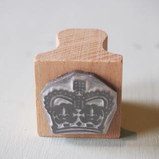 The English Stamp Company 「crown royal」スタンプ
