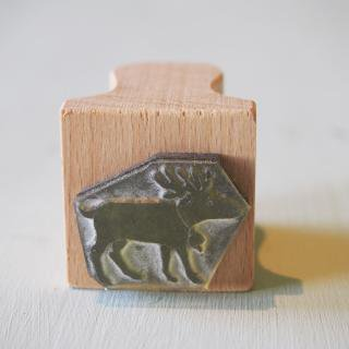 The English Stamp Company 「moose」スタンプ