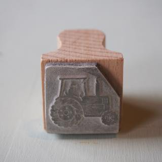 The English Stamp Company 「cab tractor」スタンプ
