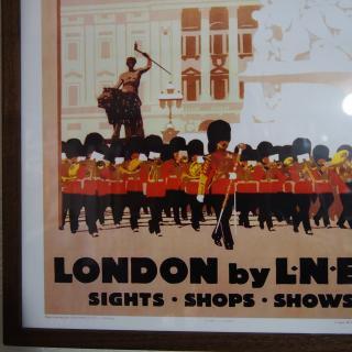 額付きポスター「LONDON by LNER」