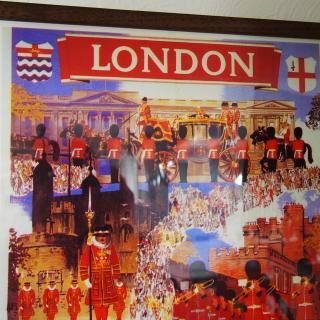 額付きポスター「LONDON by British Railways」